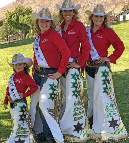 Norco Mounted Posse Rodeo Queens