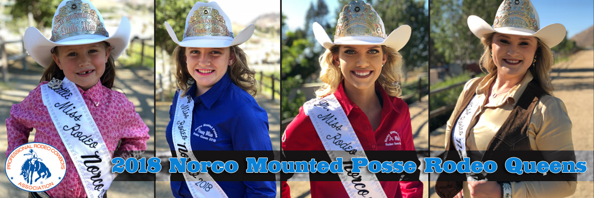 Miss Norco Mounted Posse Princesses